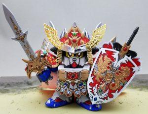 キングガンダムⅡ世/フルアーマー皇騎士ガンダム/皇騎士ガンダム/魔法の鎧装備状態