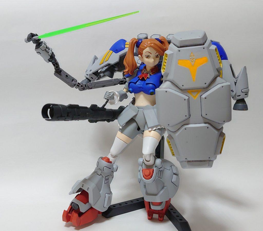 サイサリスギャン子(MLRS&ビームバズーカ複合装備) アピールショット1