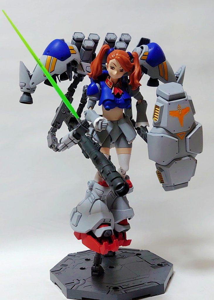 サイサリスギャン子(MLRS&ビームバズーカ複合装備)