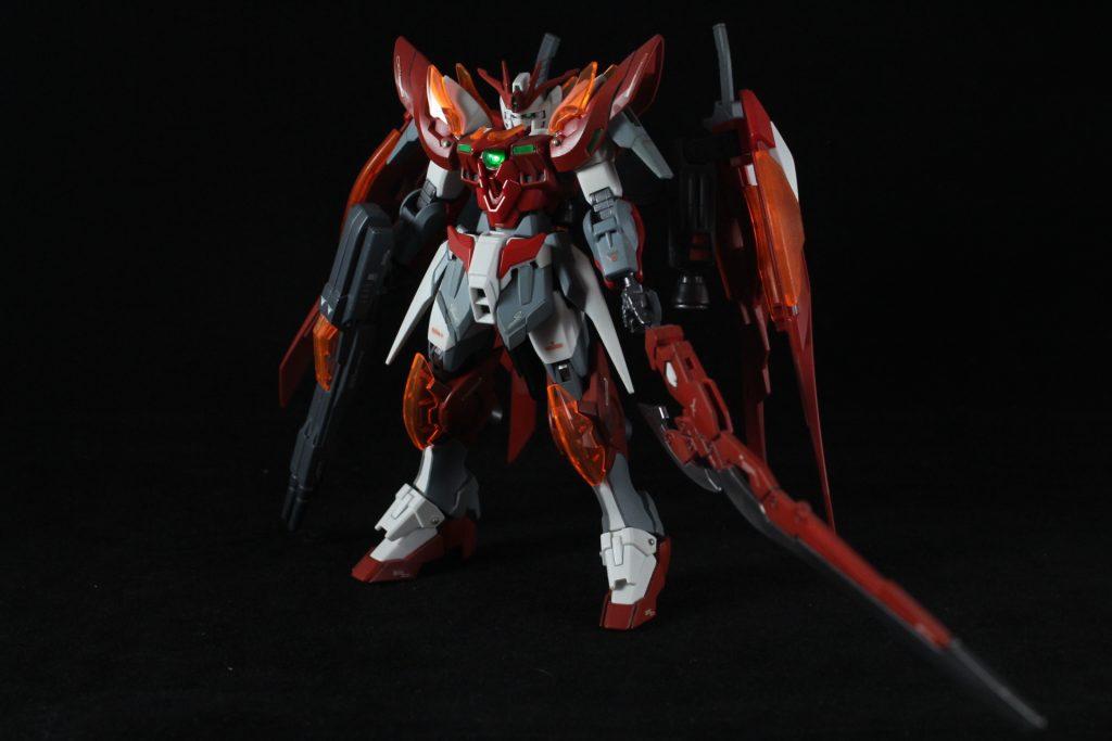 Wing Gundam Zero Honoo 制作工程2