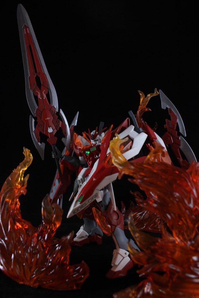 Wing Gundam Zero Honoo アピールショット2