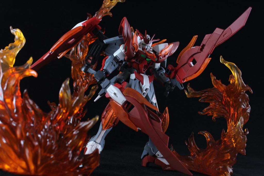 Wing Gundam Zero Honoo アピールショット1
