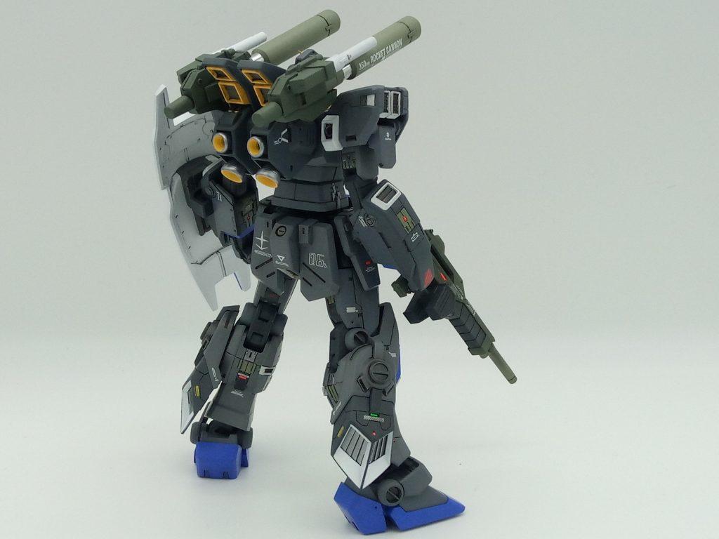 1/144 HGUC RX-78-6 GUNDAM G06 MUDROCK ガンダム6号機「マドロック」 アピールショット2