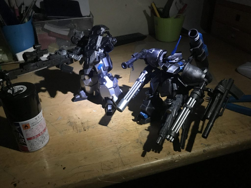 夜間強襲用重武装型グスタフ・カール アピールショット2