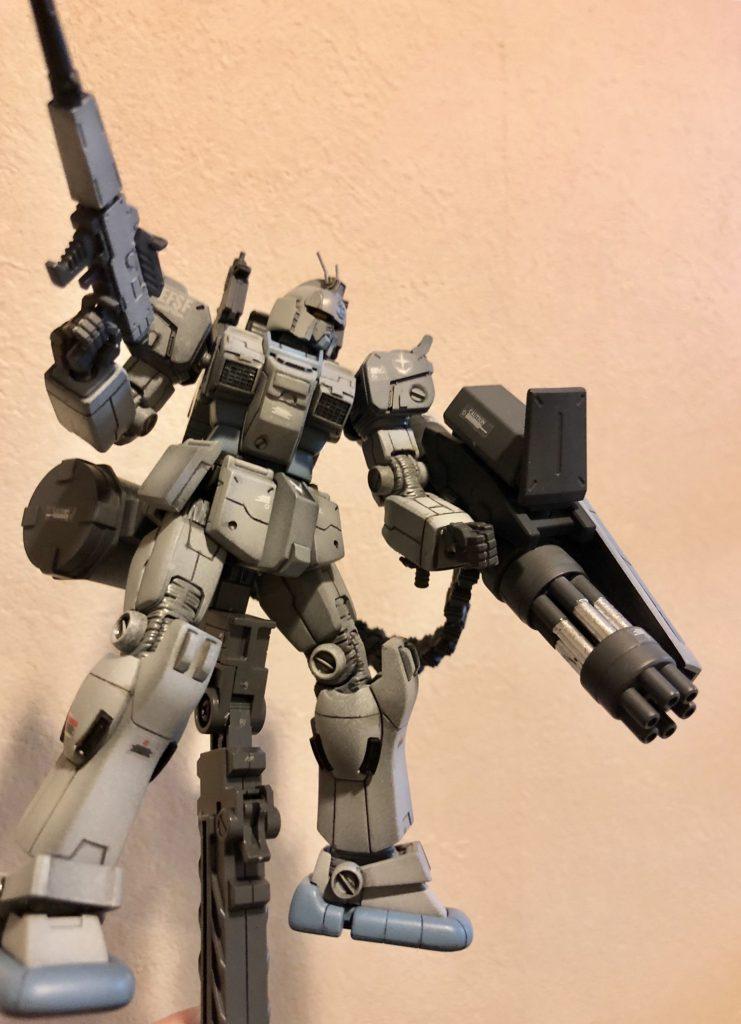 陸戦ガンダムS型 ガトリング装備 アピールショット1