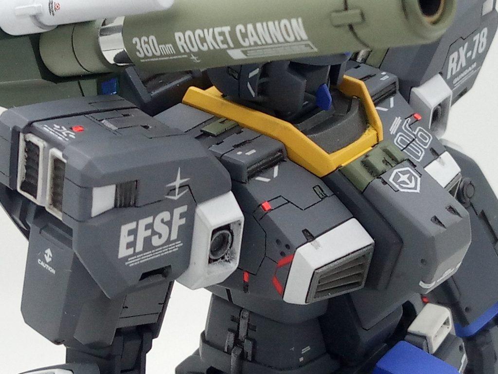 1/144 HGUC RX-78-6 GUNDAM G06 MUDROCK ガンダム6号機「マドロック」 アピールショット4