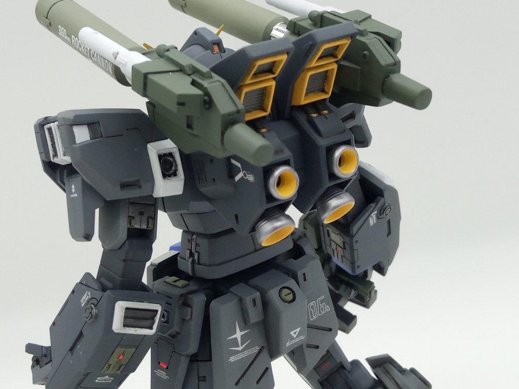 1/144 HGUC RX-78-6 GUNDAM G06 MUDROCK ガンダム6号機「マドロック」 アピールショット6