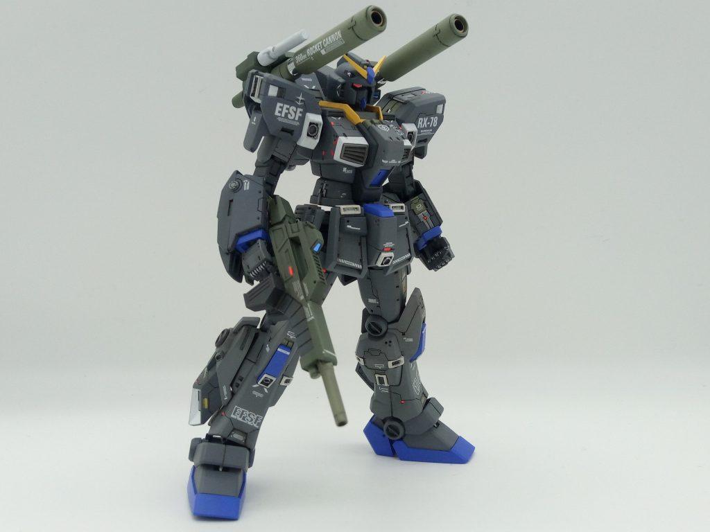 1/144 HGUC RX-78-6 GUNDAM G06 MUDROCK ガンダム6号機「マドロック」 アピールショット7