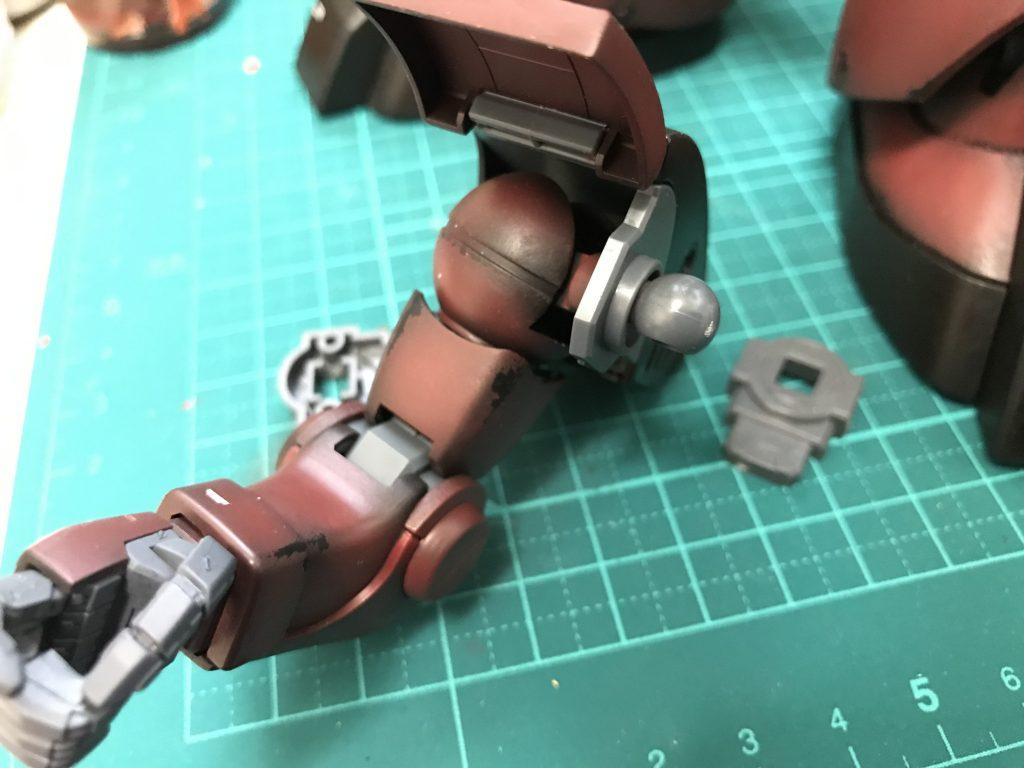 MG ドワッジ改 制作工程4