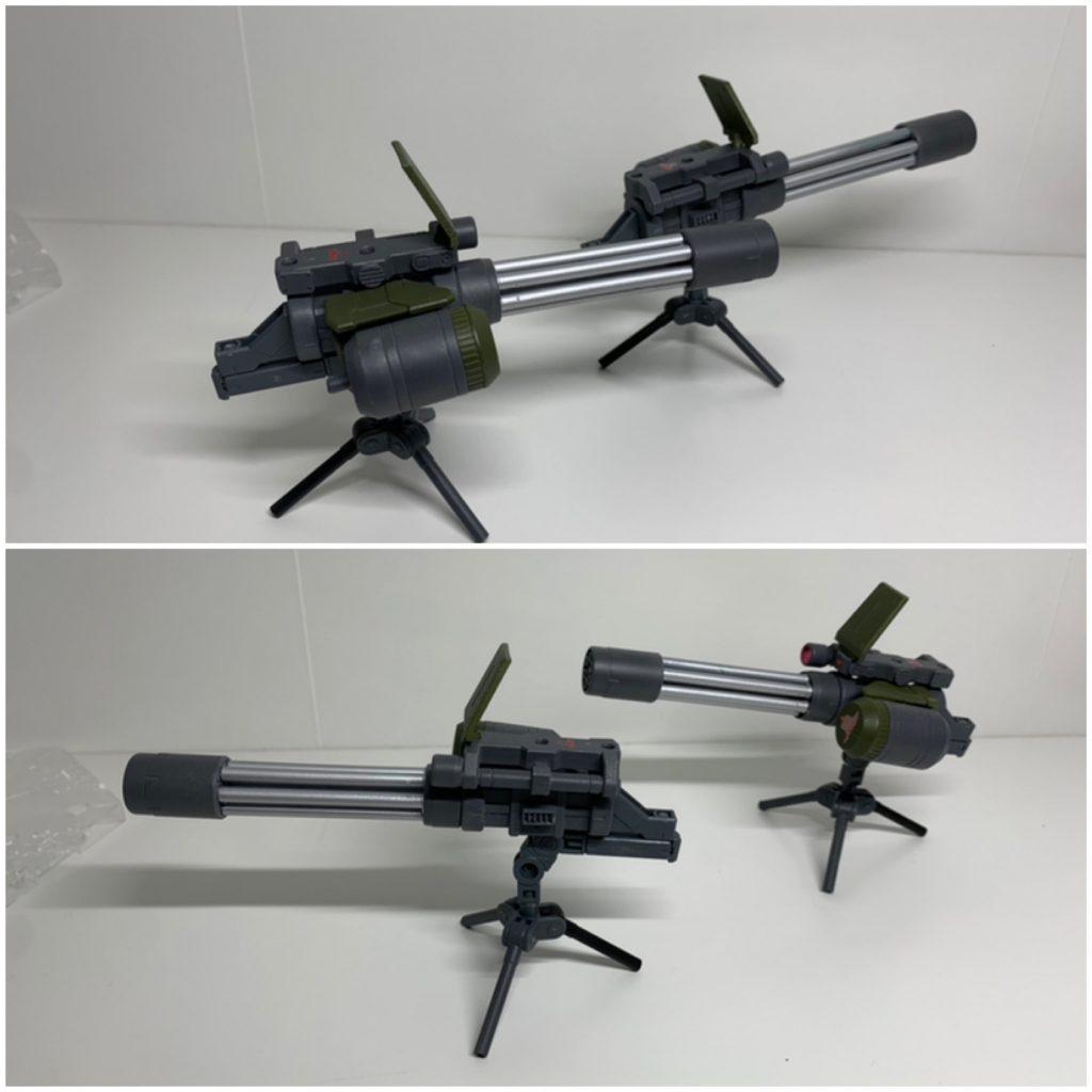 ヴィートルーガンダム火力強化型(α装備&β装備) アピールショット7