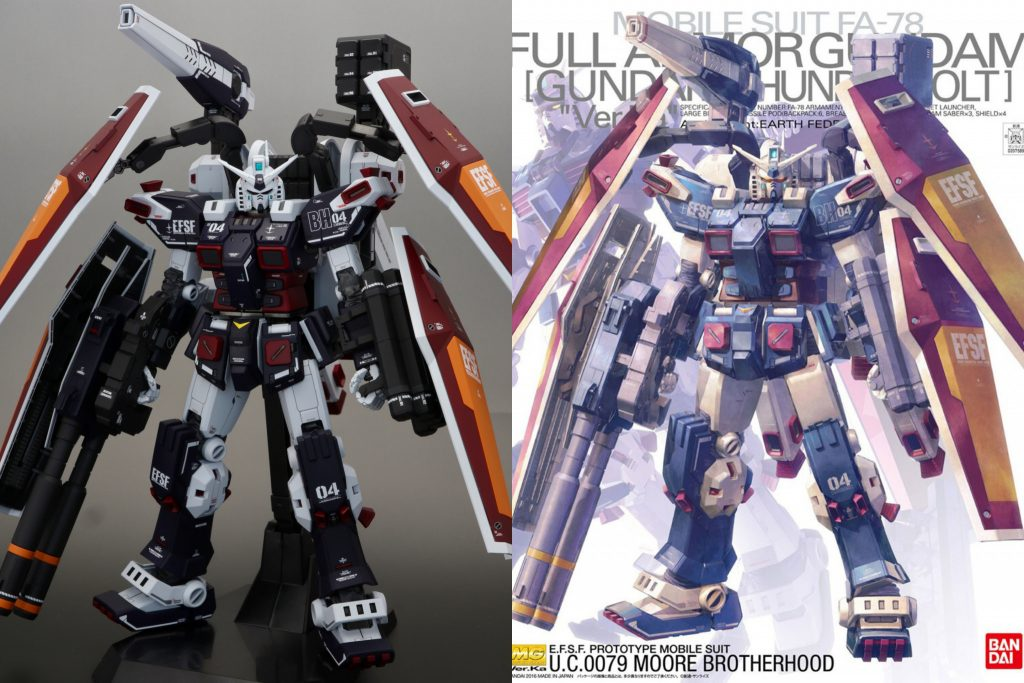 MG フルアーマー・ガンダム(サンダーボルト版) Ver.Ka 制作工程3
