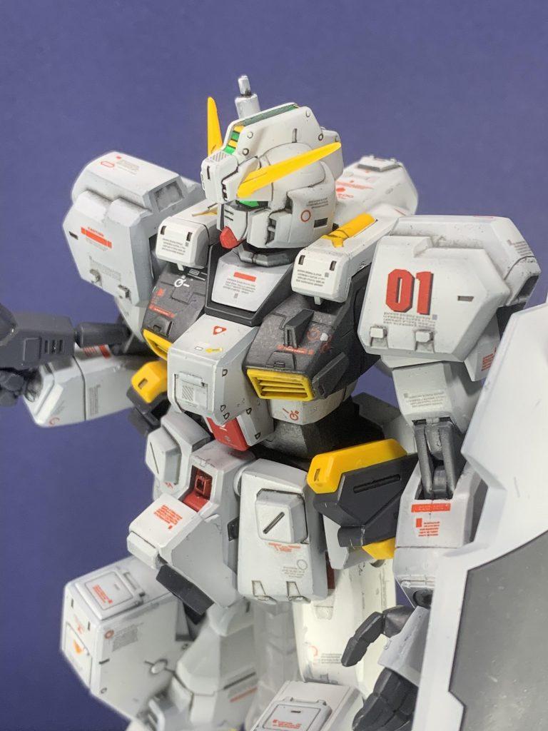 RX-121-1ガンダムTR-1 制作工程4