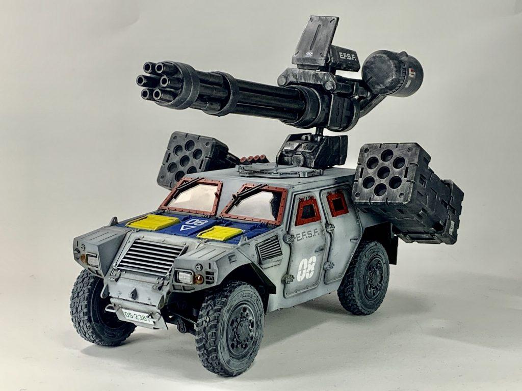 連邦軍!対モビルスーツ新型兵器! アピールショット3
