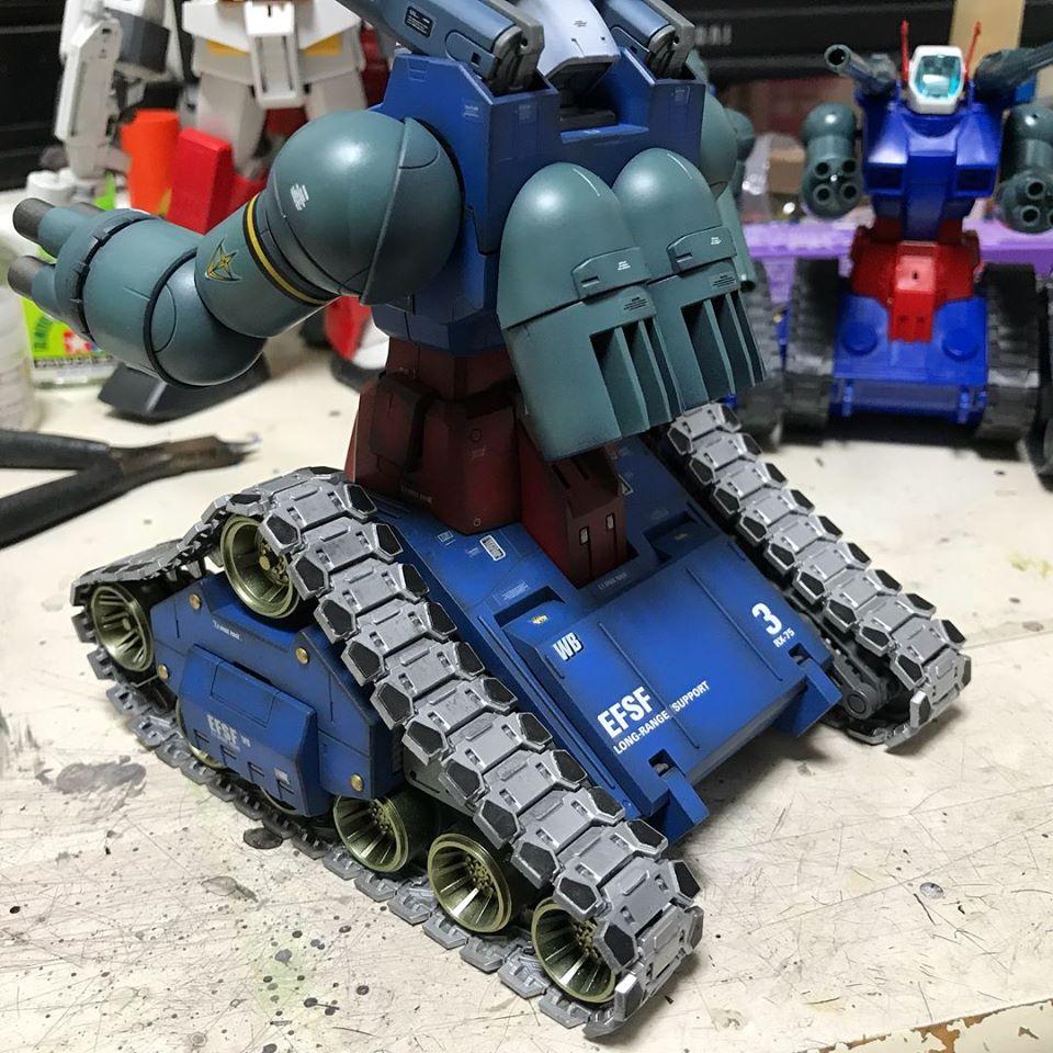 MG ガンタンク アピールショット8