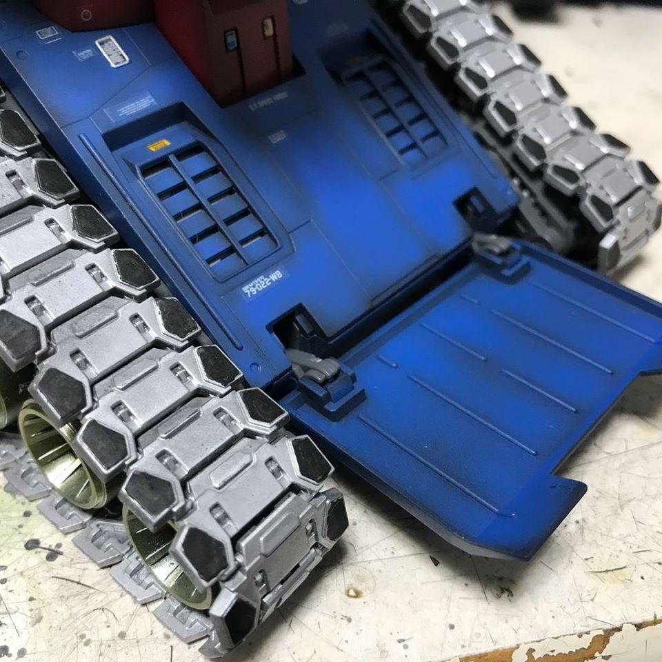 MG ガンタンク 制作工程1