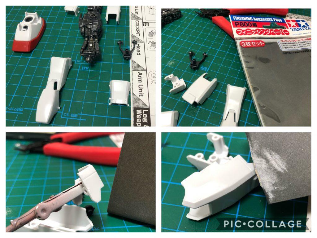 Gundam RX-78-2 制作工程1