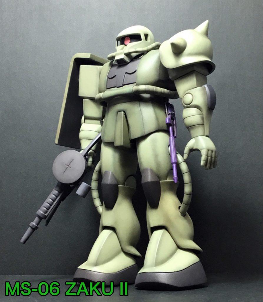 旧キット 1/100 ザクII (ZAKU II)