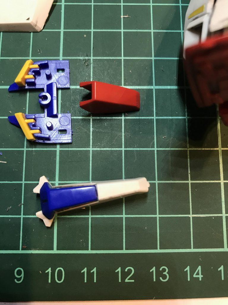 HGUC 041 1/144 MSZ-006 ZETA GUNDAM 制作工程1