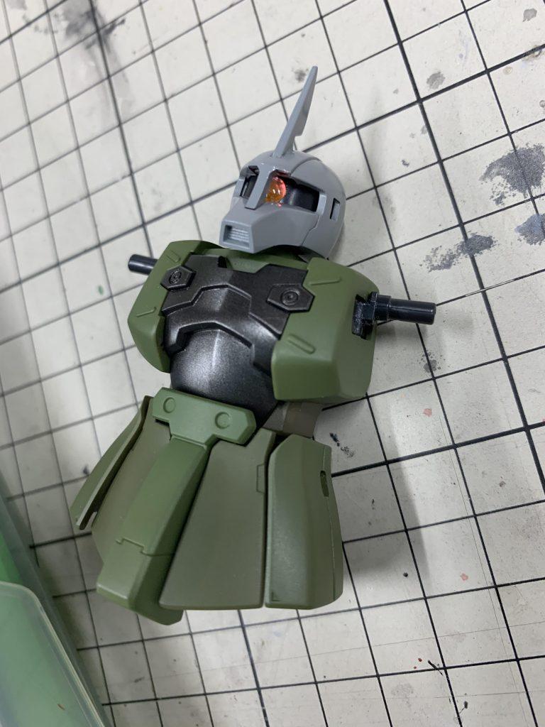 ザクⅠ(ゲラート機) 制作工程2