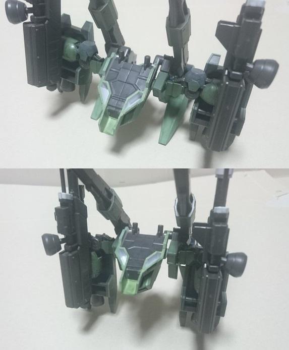 高機動強襲型試験機 制作工程3