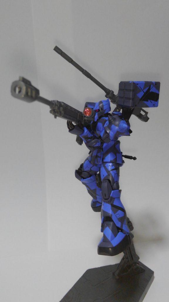 MS-05S ザクⅠカスタム アピールショット3