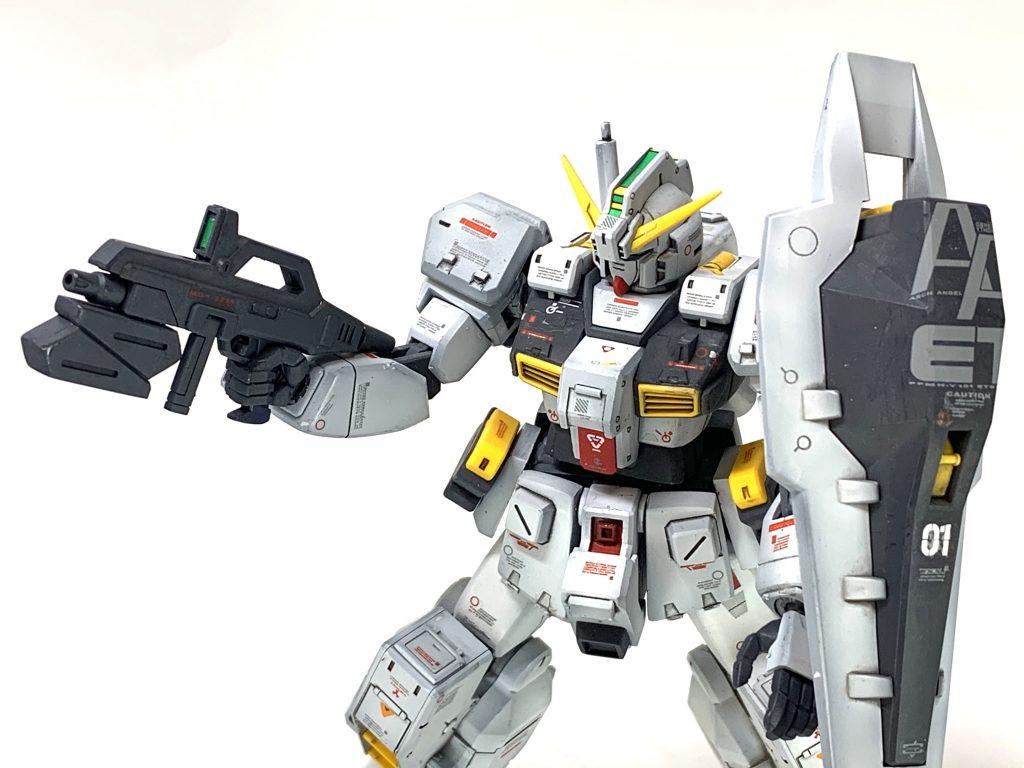 RX-121-1ガンダムTR-1 制作工程2