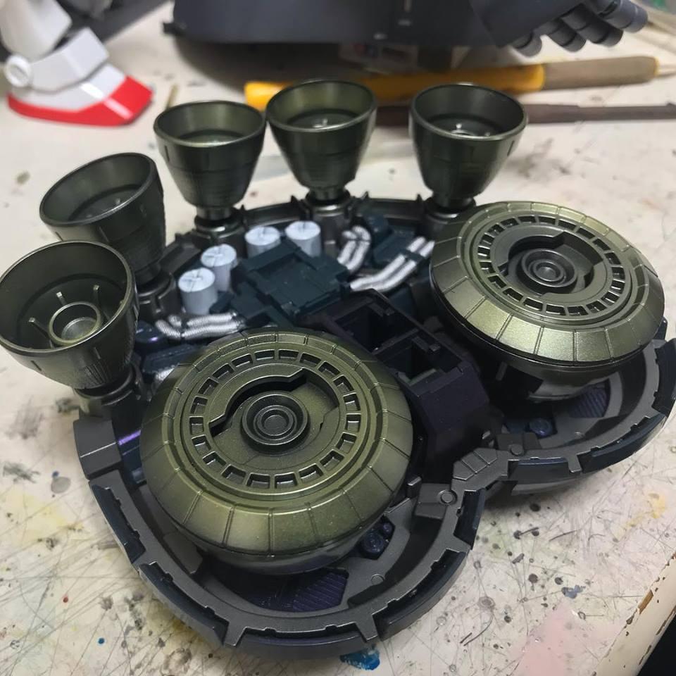 MG パーフェクトジオング 制作工程2