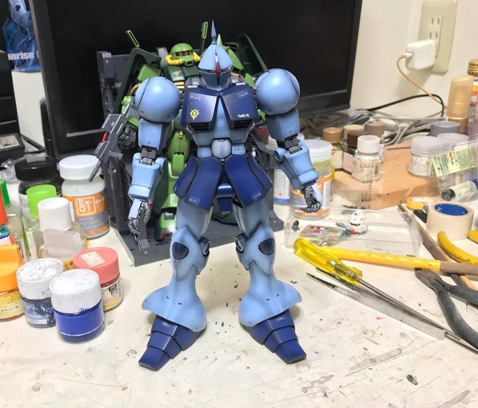MG ギャン 制作工程1