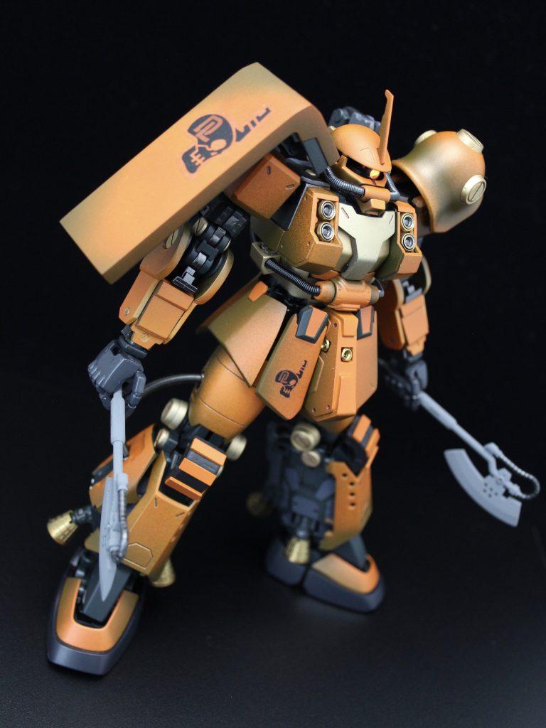 PSYCHO ZAKU Mk-Ⅱ  Daryl Lorentz's custom アピールショット3