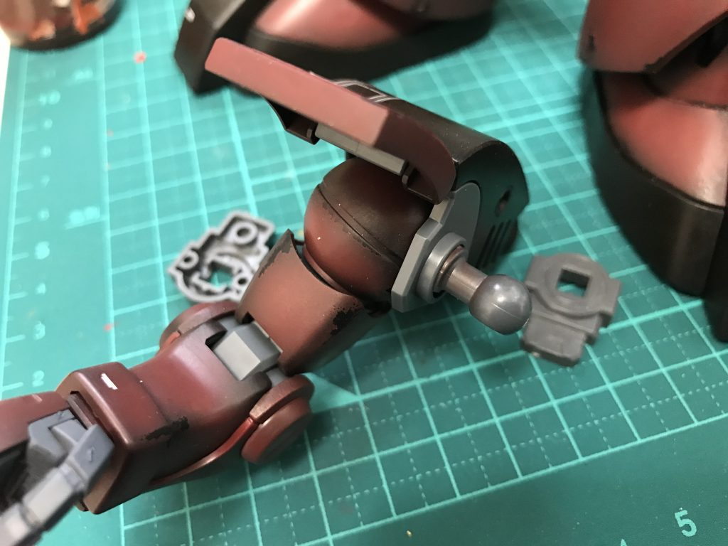 MG ドワッジ改 制作工程3