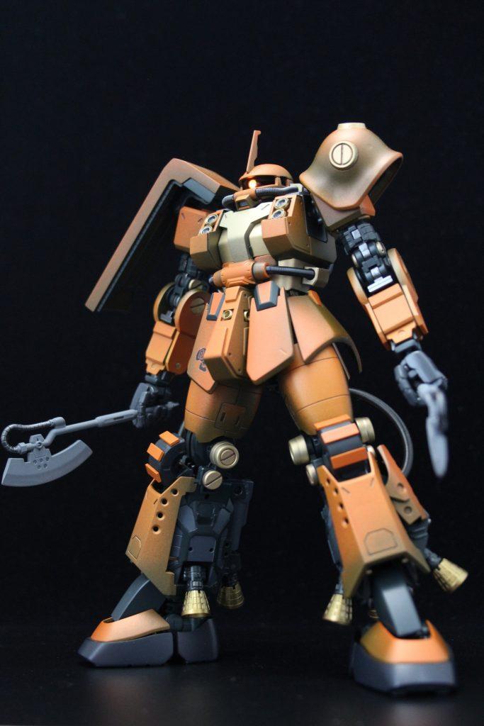 PSYCHO ZAKU Mk-Ⅱ  Daryl Lorentz's custom アピールショット2
