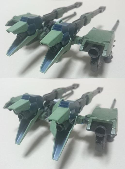 高機動強襲型試験機 制作工程2