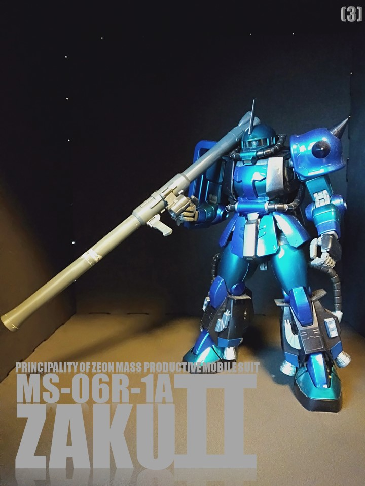 MS-06R-1A ZAKUⅡ No1 アピールショット3