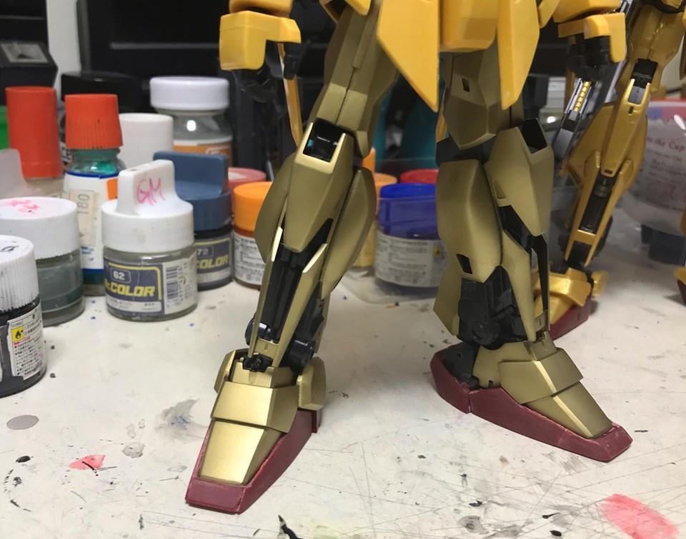 MG 量産型百式改 制作工程3
