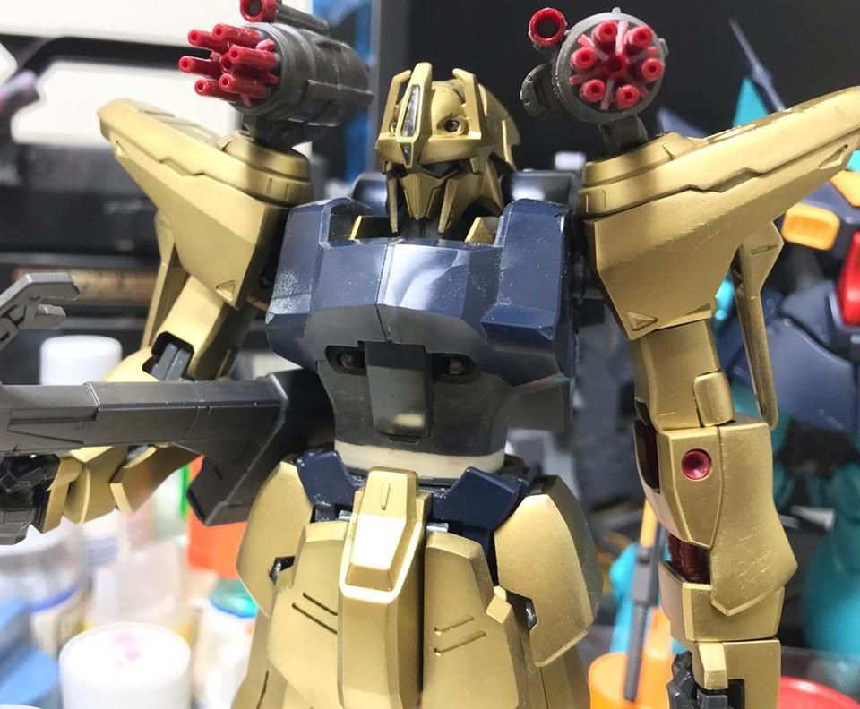 MG 量産型百式改 制作工程4