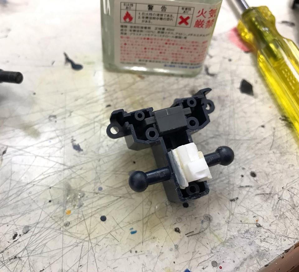 MG 量産型百式改 制作工程1