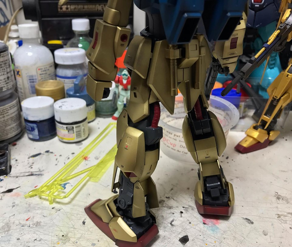 MG 量産型百式改 制作工程5