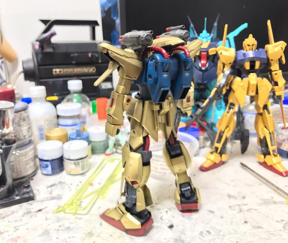 MG 量産型百式改 制作工程6