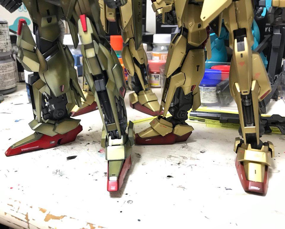 MG 百式Ver,2.0 制作工程6