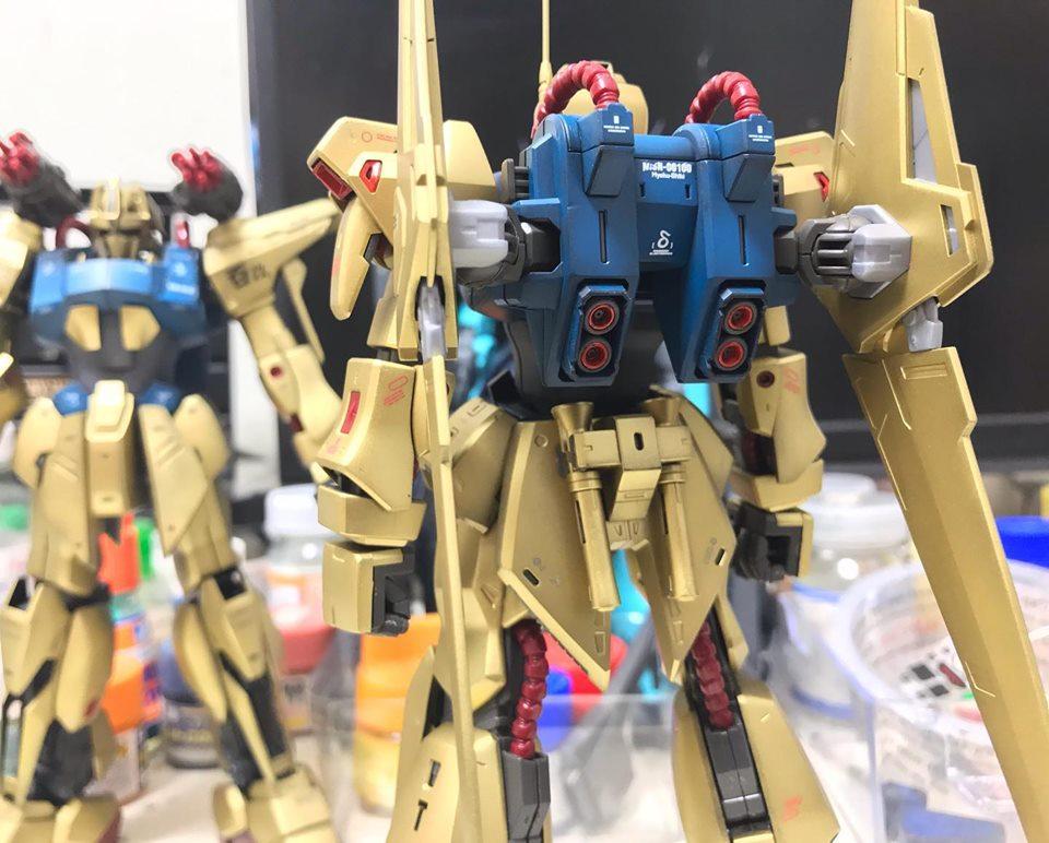 MG 百式Ver,2.0 制作工程3