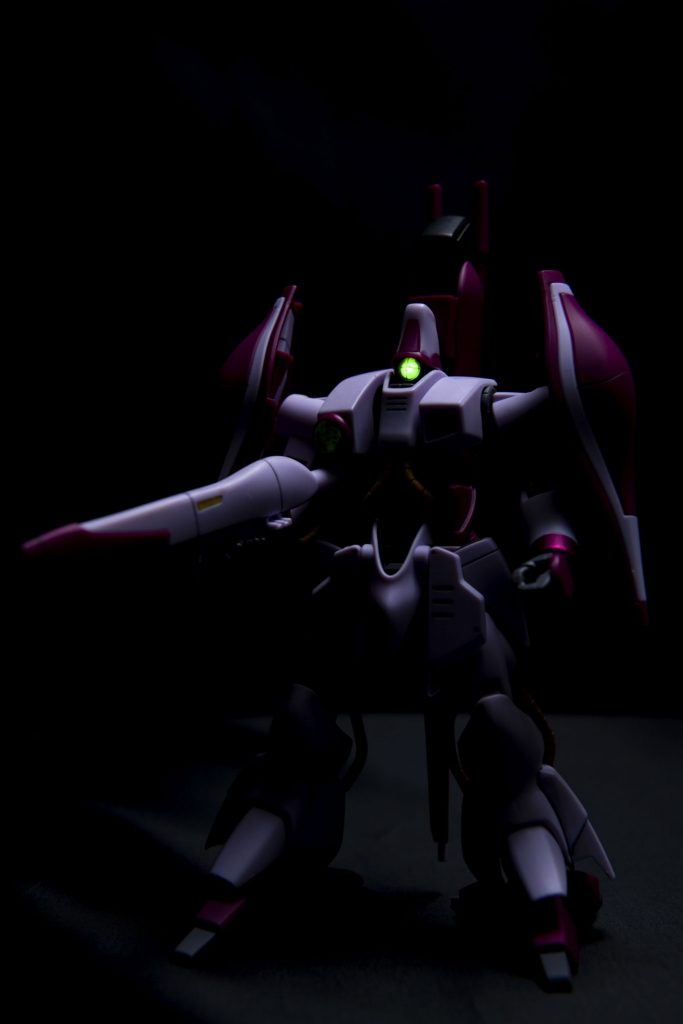 HG ハマーン専用ガザC アピールショット2