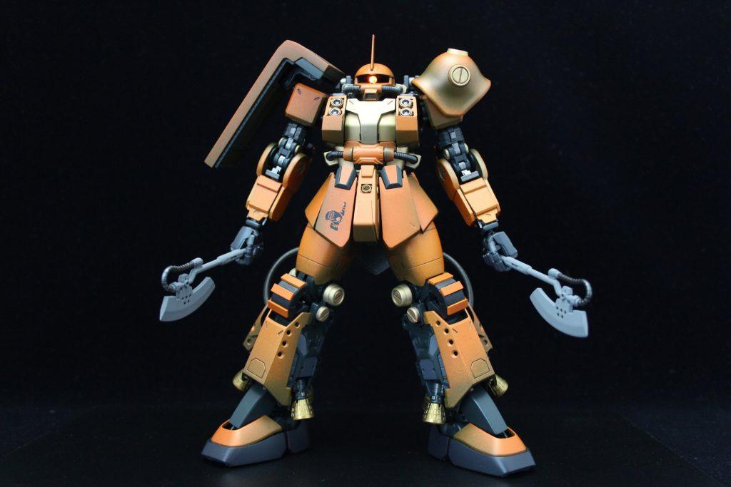 PSYCHO ZAKU Mk-Ⅱ  Daryl Lorentz's custom アピールショット1