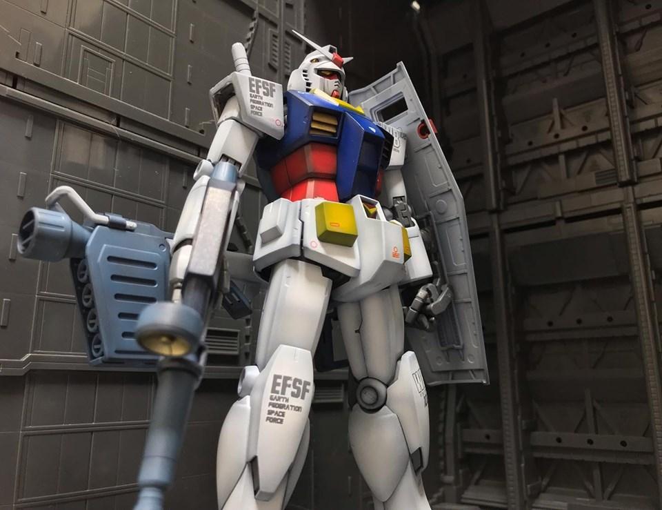 MG RX-78-2 ガンダム Ver,2.0 アピールショット6