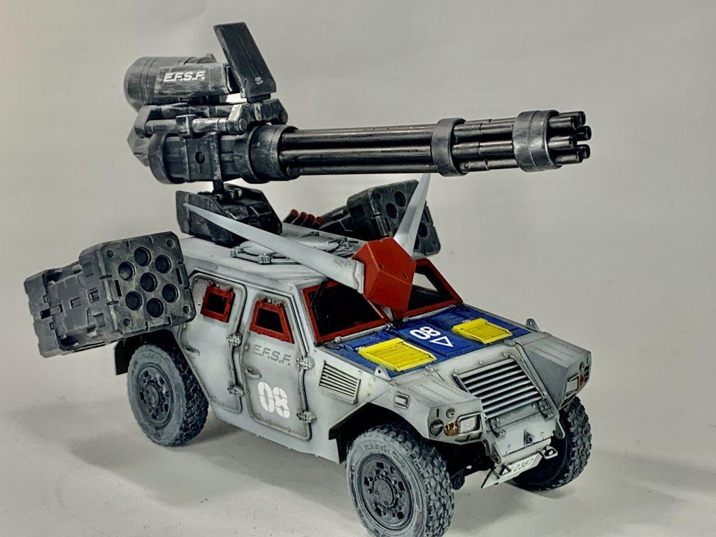 連邦軍!対モビルスーツ新型兵器! 制作工程1