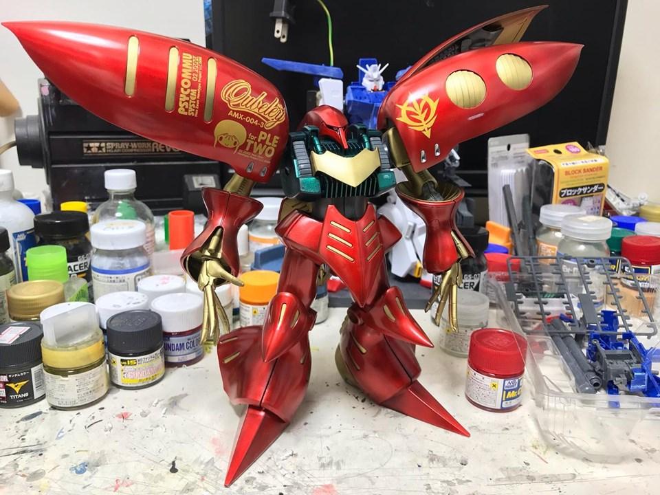 MG キュベレイMk-Ⅱ 制作工程7