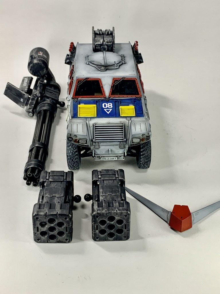 連邦軍!対モビルスーツ新型兵器! 制作工程2