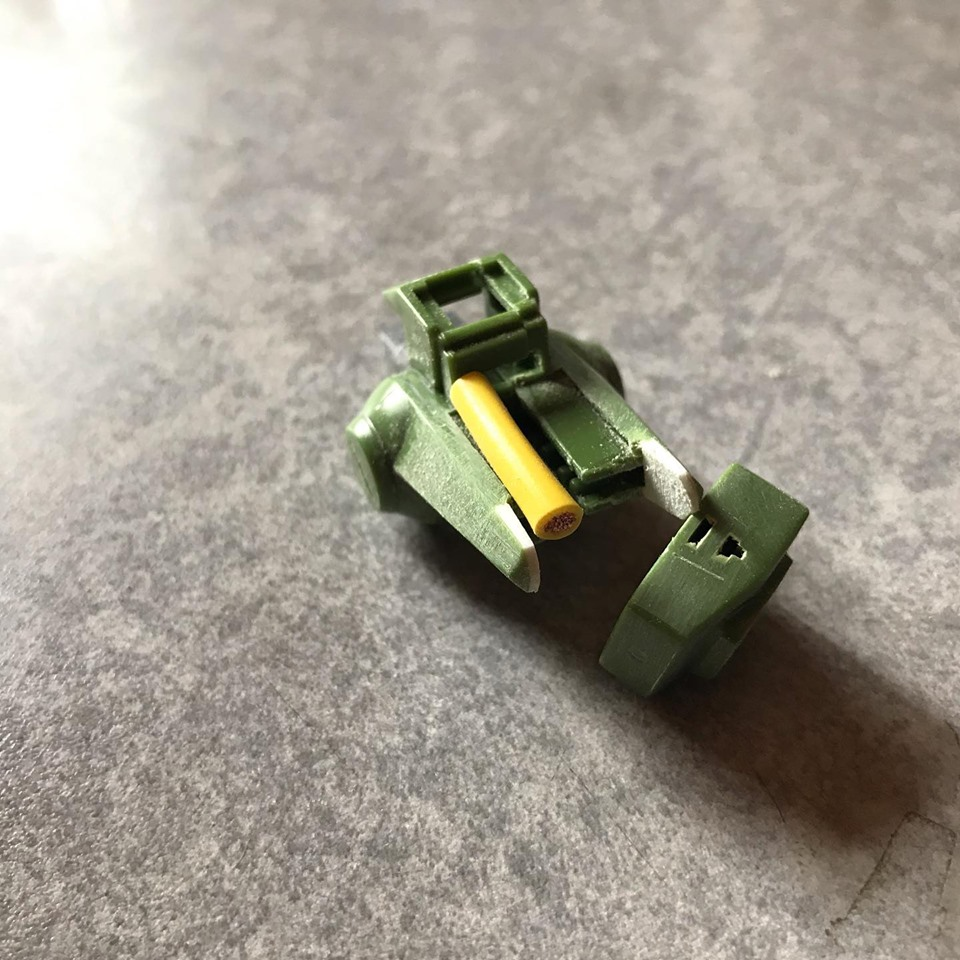 MG ハイザック先行量産型T3カラー 制作工程4