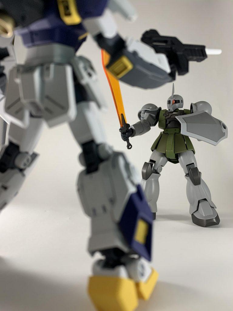 ザクⅠ(ゲラート機) 制作工程3