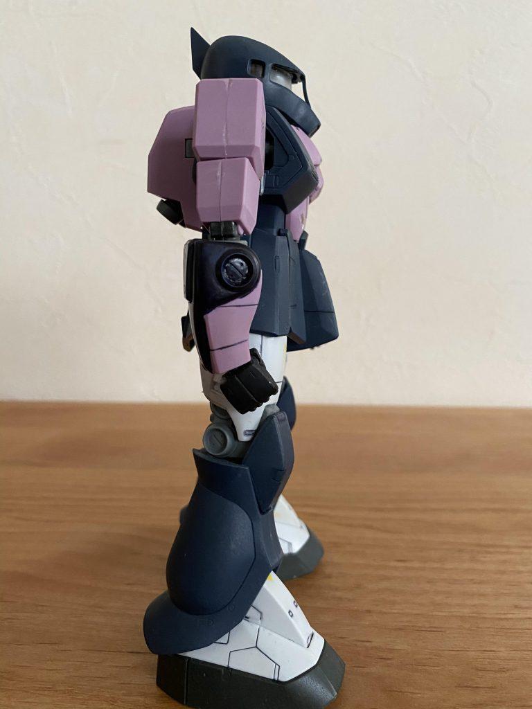 MS-05 ザクⅠ 黒い三連星 アピールショット3