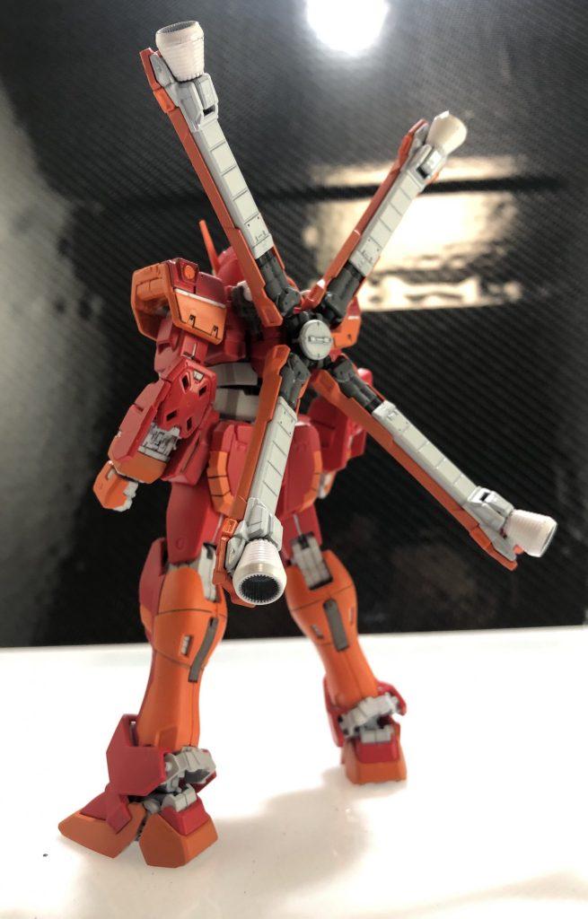 RGクロスボーンガンダム改造仮想F 97 アピールショット3